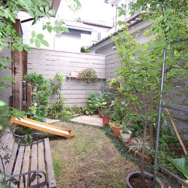 神奈川県相模原市中央区 T邸ウッドフェンス 設計+施工