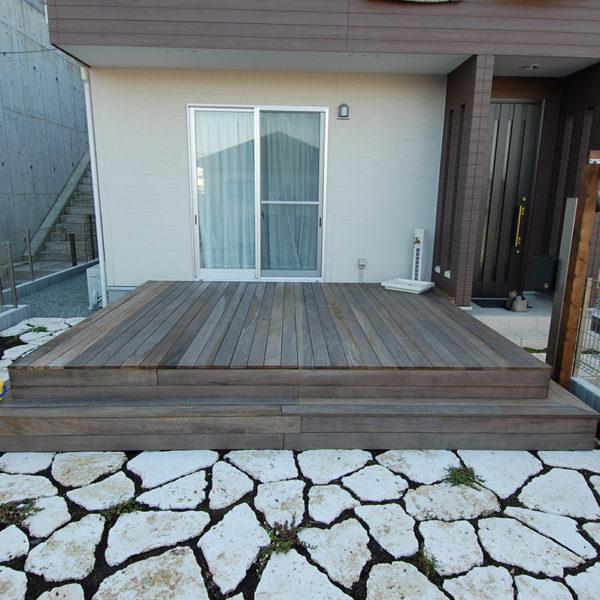 2010年07月  東京都町田市 TKH邸 パーゴラ+ウッドデッキ 設計+施工