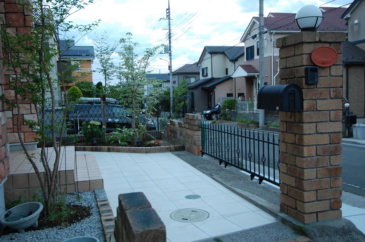 東京都八王子市 K邸 駐車場 + アプローチ 設計+施工